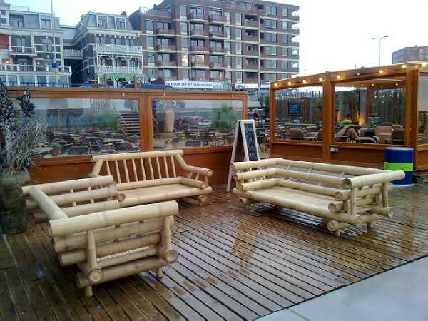 Meubels Voor Buiten : Bamboe meubels bamboepaal