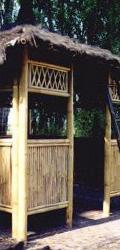 Bamboe Tuinhuisjes