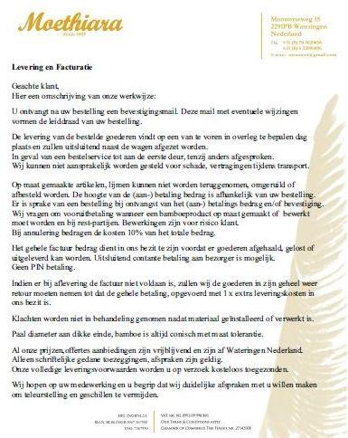 Levering en Facturatie01-2015