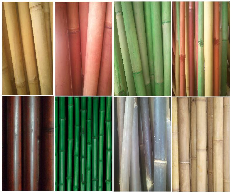 palen van bamboe