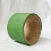 Indonesian Bamboepoles, Green, Stained